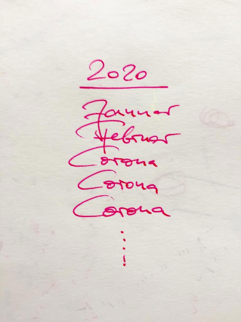 Caroline zum Thema «Das Jahr 2020 bisher»
