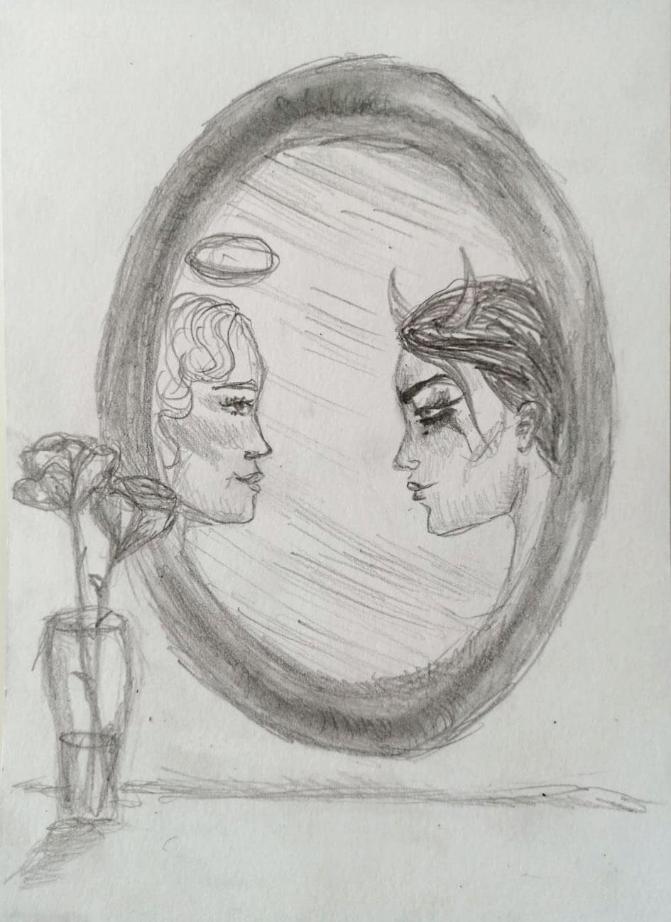 Marlene zum Thema «Spiegel»
